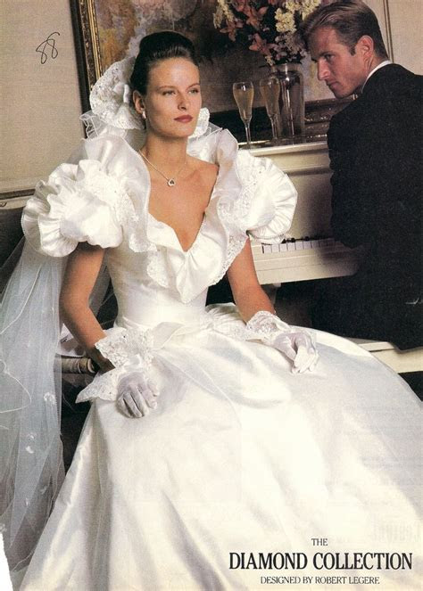 62 best [1980s] ~ bridal fashion images on Pinterest