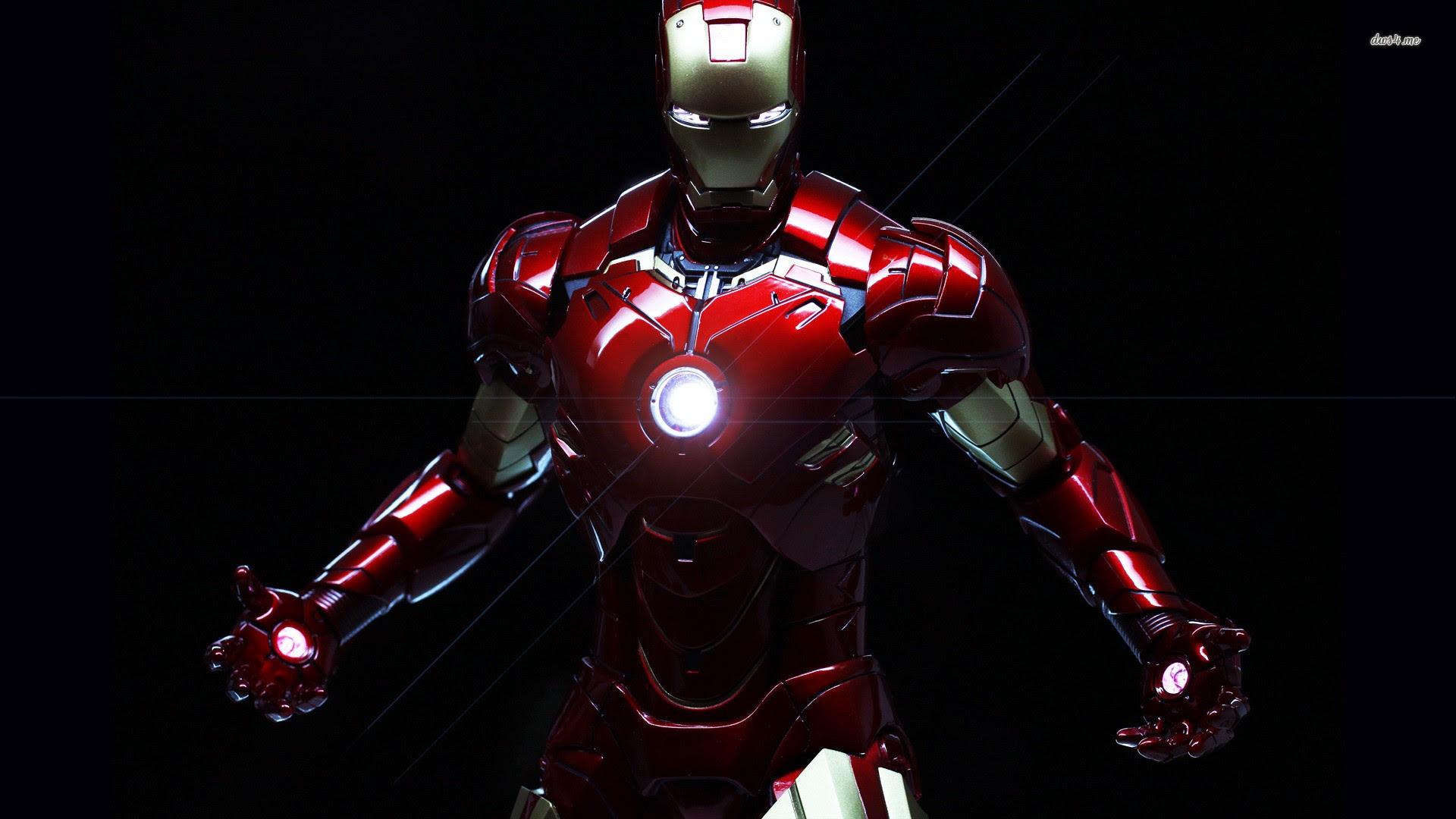 Wallpaper 3d Iron Man