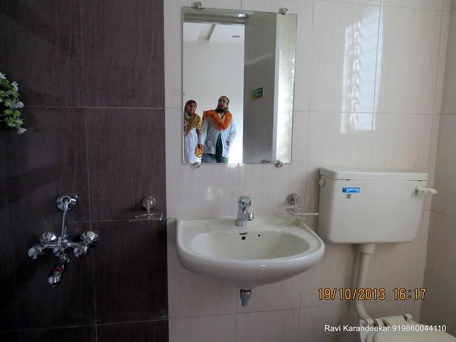 Common Toilet - Visit 2 BHK Show Flat of Vastushodh Projects' UrbanGram Kolhapur, Township of 438 Units of 1 BHK 2 BHK Flats, behind S. P. Office, near Dream World Water Park, Kolhapur 416003 Maharashtra, India