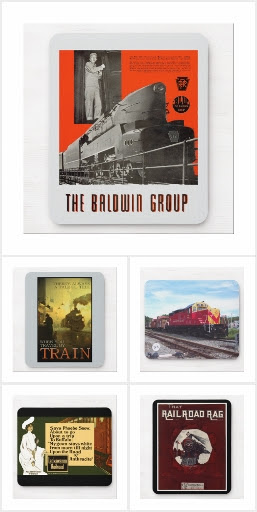 Mighty Railroad + Train Mouse Pad Collection