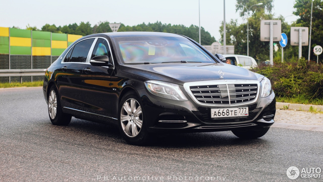 Mercedes-Maybach S600 Guard - 27 June 2016 - Autogespot