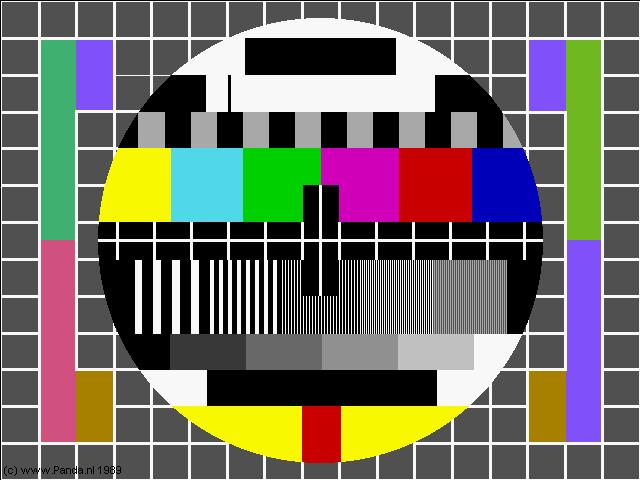 testbeeld plaatje (3953 bytes) hoge resolutie, testcard image