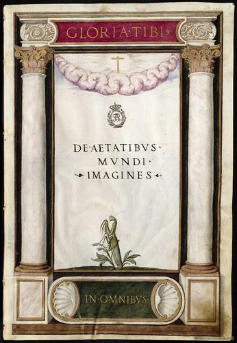 De Aetatibus Mundi Imagines -  Francisco de Holanda (1545-1573)  Frontispiece