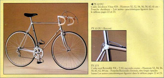 1983 Peugeot PX10DU FR catalogue