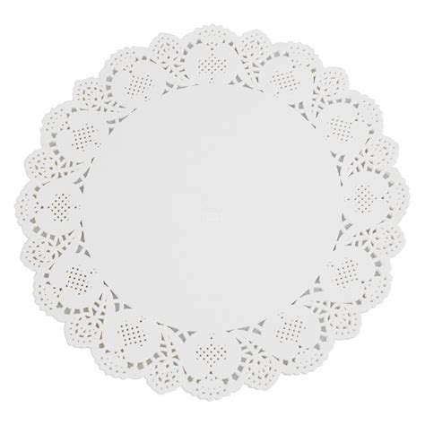 Round White Paper Lace Doilies 5 Sizes Wedding Doily
