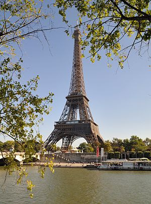 Deutsch: Paris: Eiffelturm