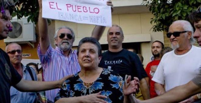 Deshaucio en Sevilla.