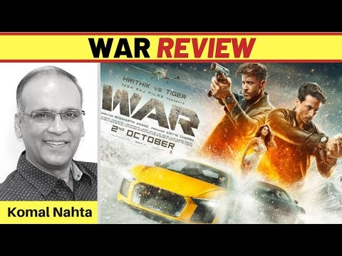 WAR Hindi Movie Review by Komal Nahta