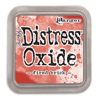 Tim Holtz Distress Oxide Ink Pad FIRED BRICK Ranger TDO55969