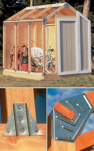 Do It Yourself Home Design: Harsley: Complete Fast Framer Universal Storage Shed