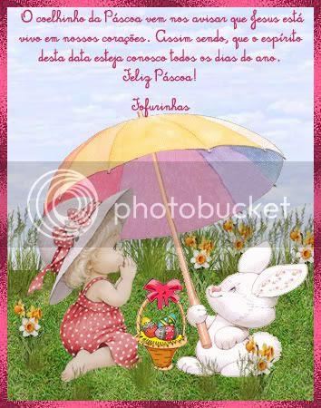 Feliz Páscoa! Que Jesus viva em todos os corações!