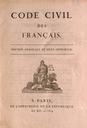 Code civil des Français