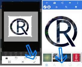 mudah membuat logo   picsart android