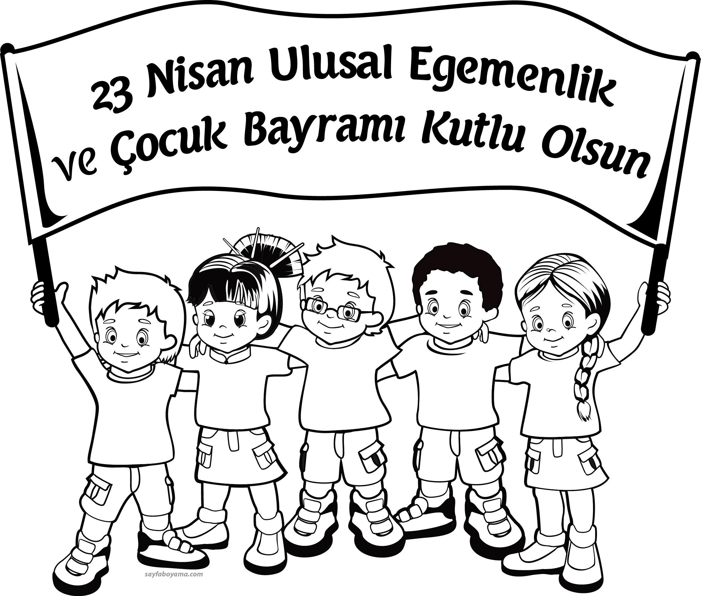 23 Nisan Mandala Boyama Gazetesujin