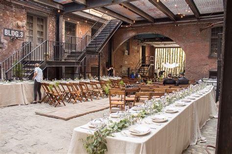 Cobblestone Courtyard Weddings, Glasserie, Brooklyn