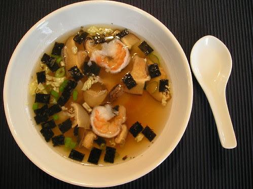 Soupe Asiatique à la Bridge