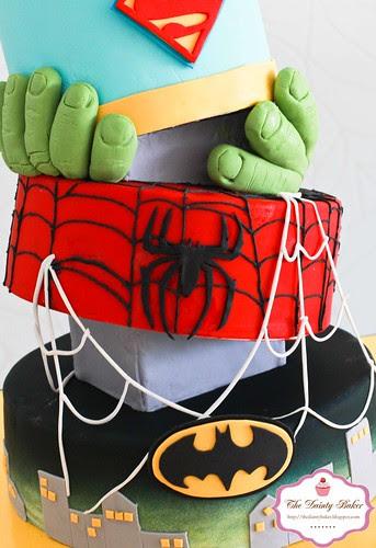 Superohero Cake-5