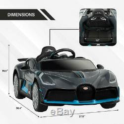 Bugatti Divo Kids Ride On Car 12v Electric Vehicles With ...