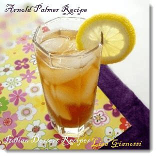 Arnold Palmer Recipe   2 Recipes With Alcohol/No Alcohol