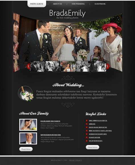 Wedding Album PSD Template #54415