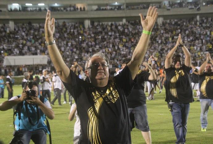 Judas Tadeu presidente do ABC (Foto: Fabiano de Oliveira)