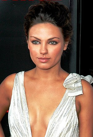 English: Mila Kunis attending the Premiere of ...