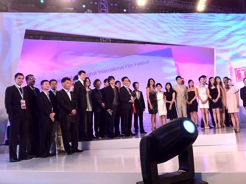 Asian New Talent Award ceremony group photo