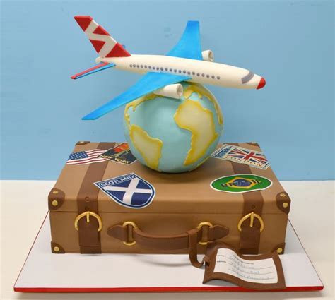 78 Best images about Travel Cakes on Pinterest   Around