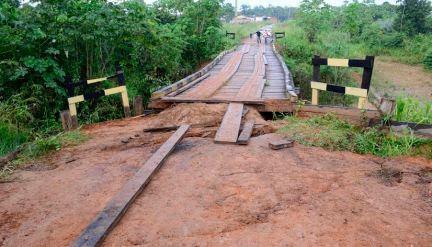 Prefeitura de Rio Branco realizará reparos na ponte do Panorama