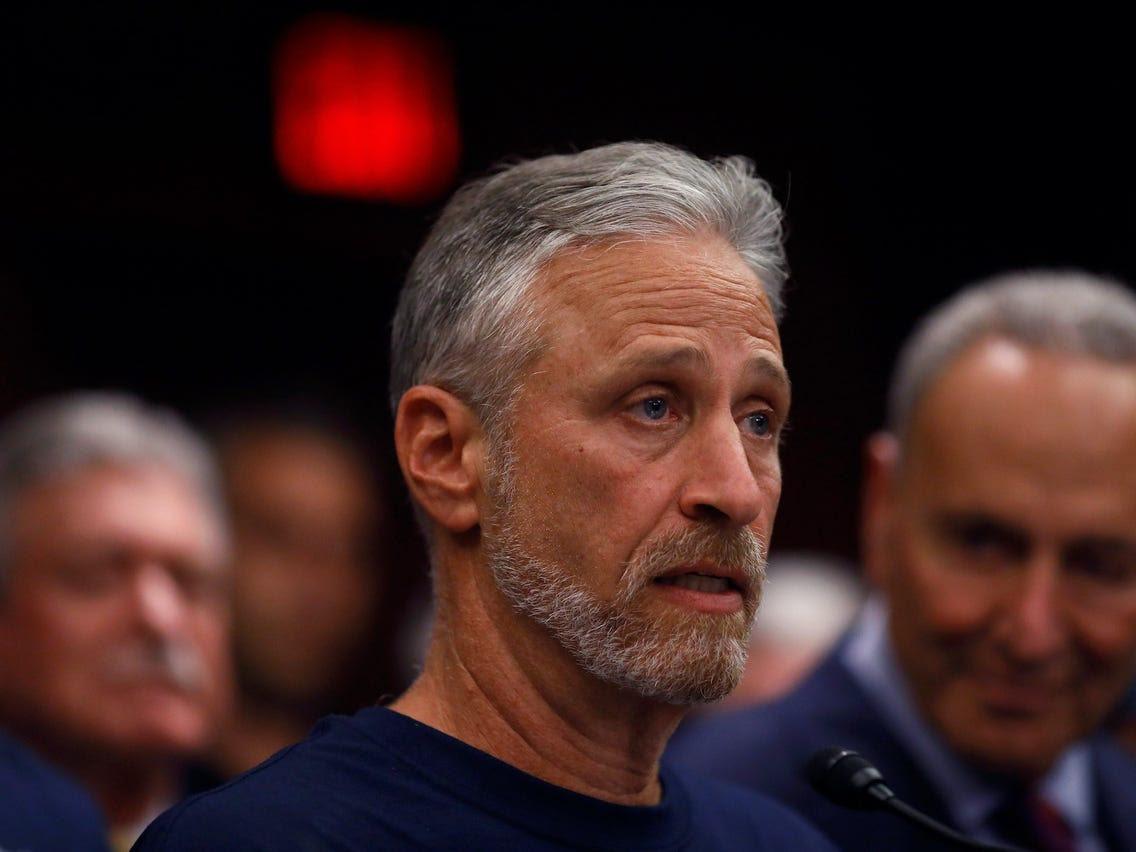 Jon Stewart says Trump's 'shamelessness' makes him dangerous