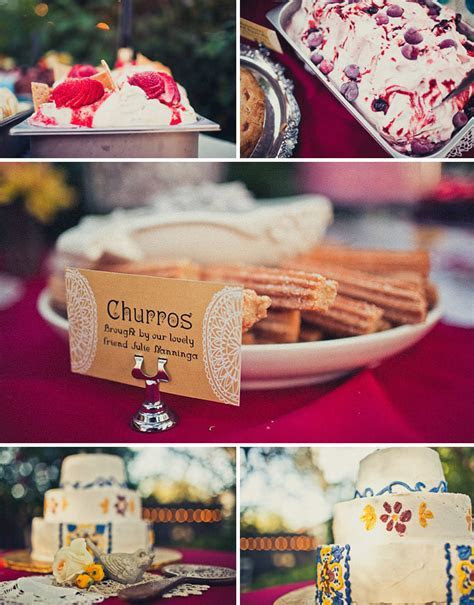 Real Wedding: Vanessa   Chris' Vintage Spanish Wedding