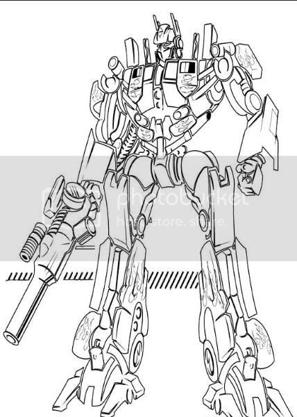 Coloring Pages For Girls Transformers Coloring Books