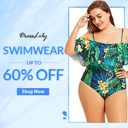 Swimwear Up To 60% OFF, Have A Sexy And Comfortable Time In The Sea, The Beach And The Swimming Pool