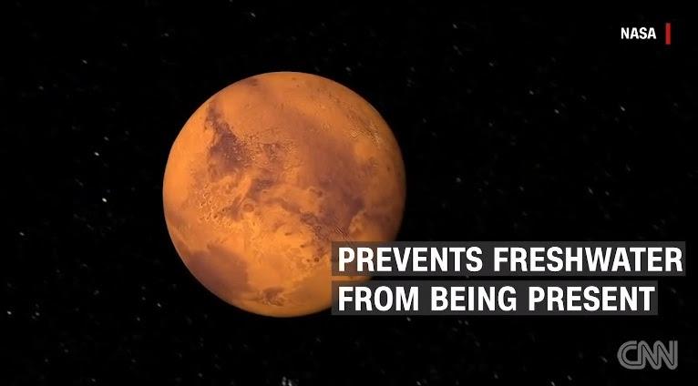 """Hình ảnh NASA công bố """"thủ phạm"""" biến sao Hỏa thành hành tinh chết số 1"""