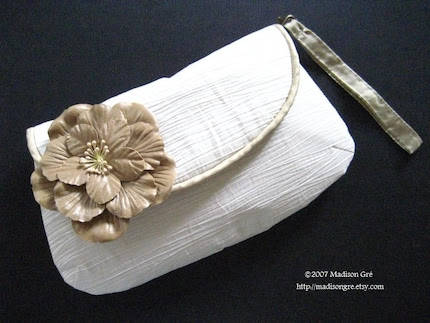 Blanca Bridal Champaign Rose Clutch