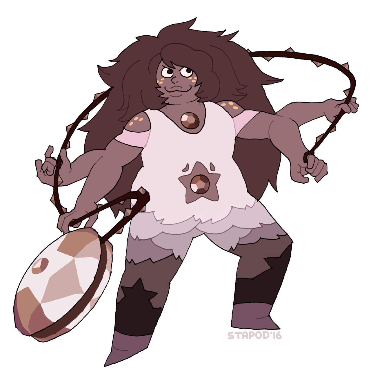 Smoky Quartz - Rose edition