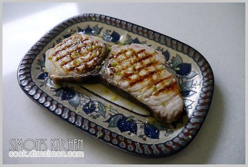 炙燒旗魚排佐檸檬奶油04