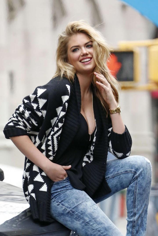 Kate Upton Street Photoshoot in NYC -29