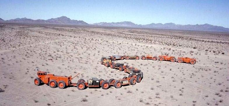 10 vehículos tan descomunales que solo se fabricaron una vez