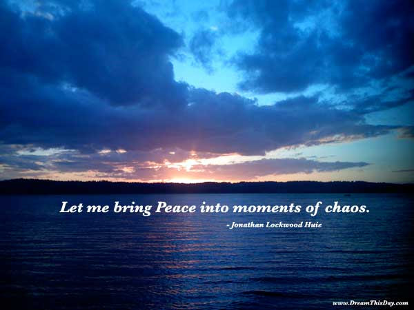Daily Inspiration Daily Quotes Choosing Peace