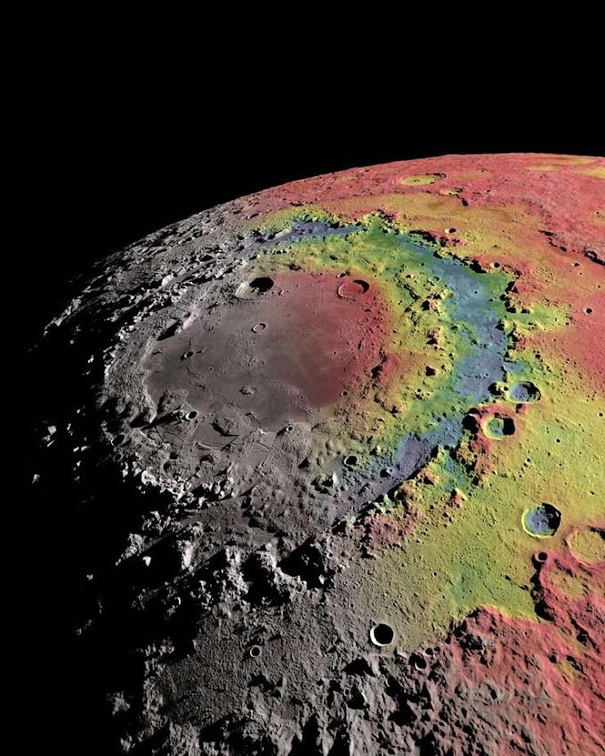 CIÊNCIA: Cientistas revelam origem de uma das maiores crateras da Lua