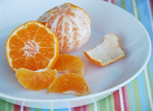 clementines peeled