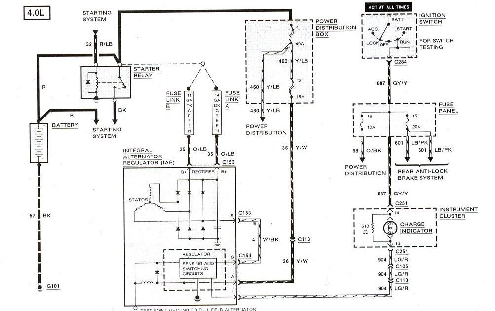Wiring Database 2020: 25 1998 Ford F150 Radio Wiring Diagram