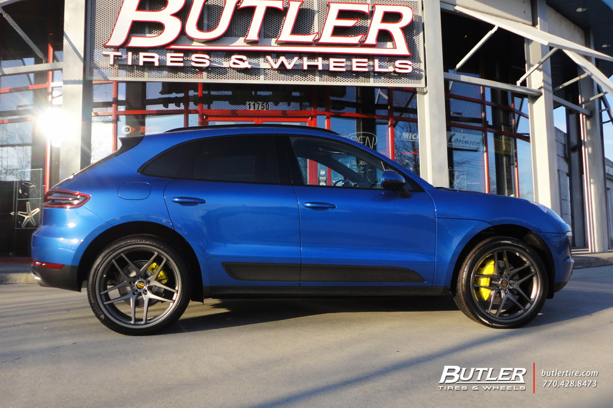 Porsche Macan With 22in Savini Bm7 Wheels Exclusively From Butler Tires And Wheels In Atlanta