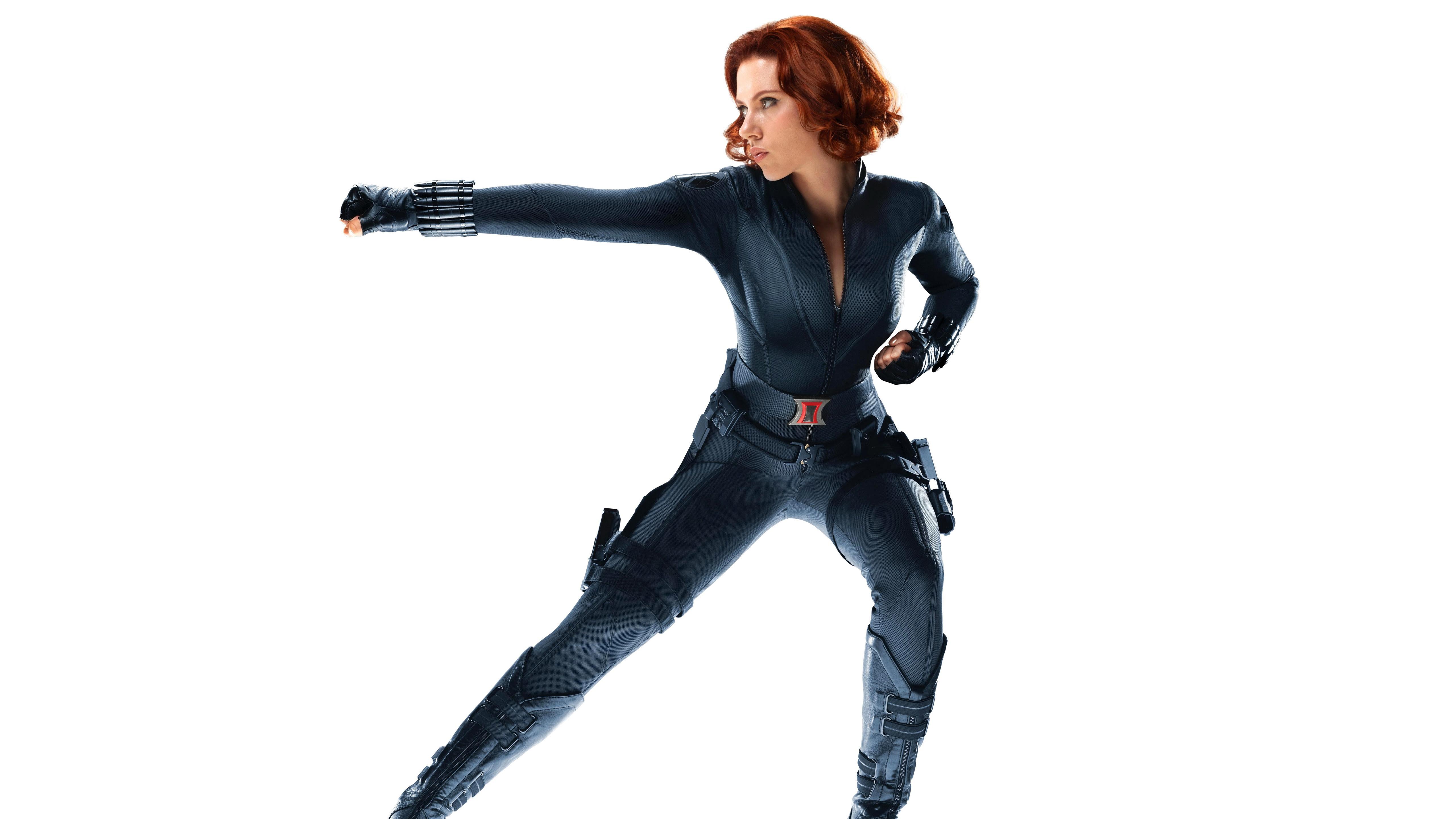 Scarlett Johansson As Black Widow In Avengers Wallpapers In Jpg