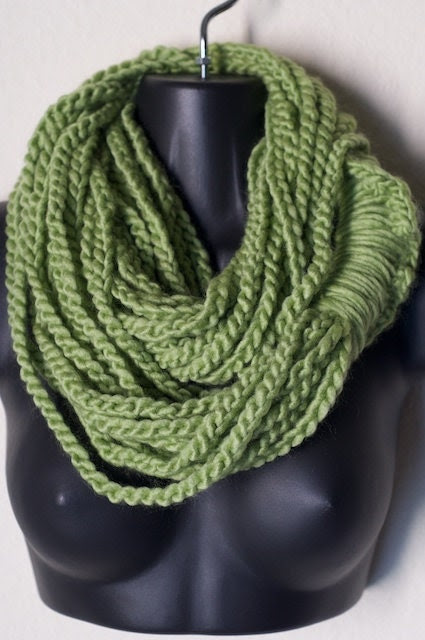 Sweet Pea Earth Infinity Lotus Lupe Double Wrap Scarf