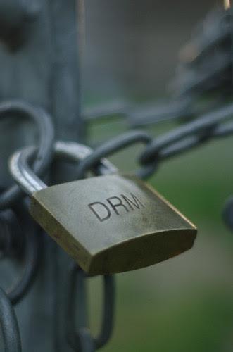 DRM is like a keyless pad lock