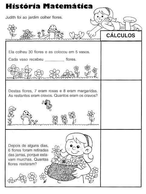 Atividades De Matematica 2 Ano Para Imprimir