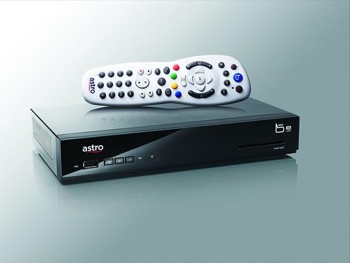 Astro B.yond Media Box and Remote Control