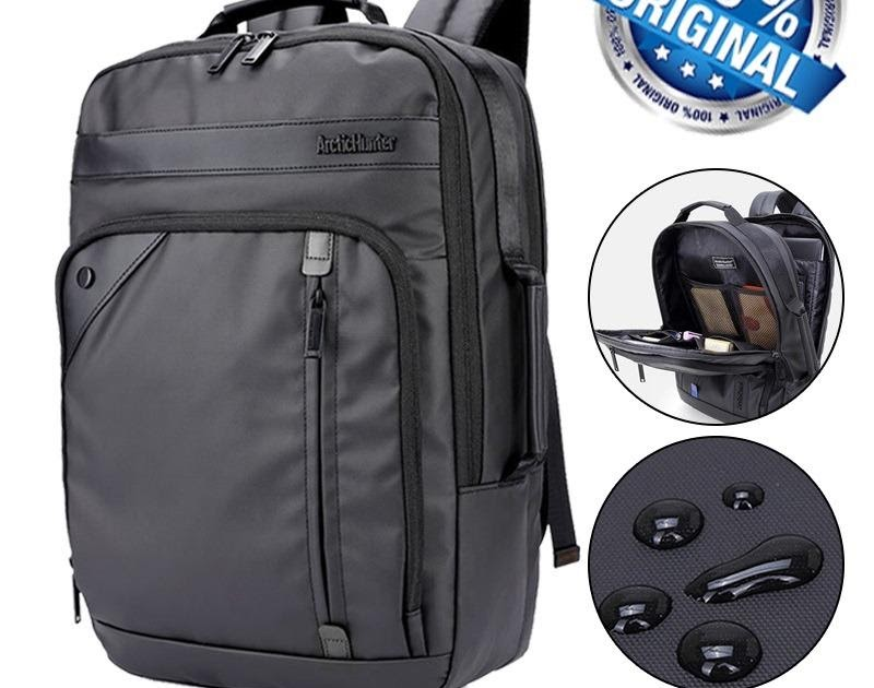 HARGA TERJANGKAU Arctic Hunter Tas Ransel Laptop Premium Executive Business Backpack Oxford AH-EB Bisnis